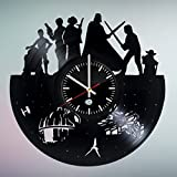 Movie Characters Design handmade vinyl record wall clock - Best gift
