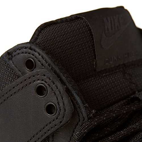 Nike SB Herren Dunk High R / R Boot Schwarz Schwarz 001