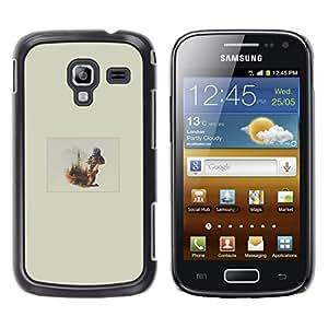 iKiki Tech / Estuche rígido - Ardilla Forrest - Samsung Galaxy Ace 2