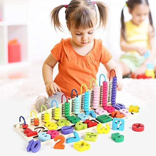 玉そろばん 木製玩具 算数 そろばん 赤ちゃん キッズ おもちゃ 知育玩具 子供 算数 知育 児童用 理解力 計算力 1-10数字 鮮やかな色 3歳 4歳 5歳 カラフル 幼稚園 お誕生日 クリスマス プレゼント