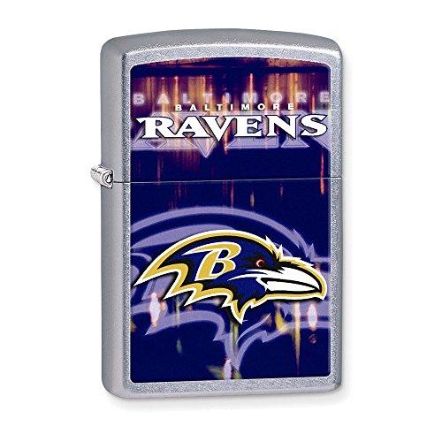 Zippo NFL Baltimore Ravens Street Chrome Lighter
