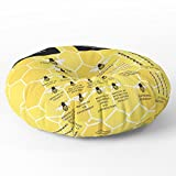 Society6 The Organization Of Bees Floor Pillow Round 26'' x 26''