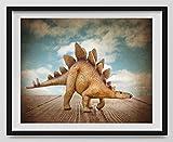 ''Stegosaurus Wall Art '' Dinosaur Photo Wall Art, Boys room Wall art, Photo Decor, Dinosaur room, Nursery decor, Kids Room Wall Art. Available as print or canvas.
