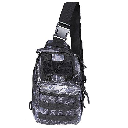 Shoulder Bag Military Outdoor Black Travel Camping Trekking Hiking Python Backpack RdA6dnqxCw