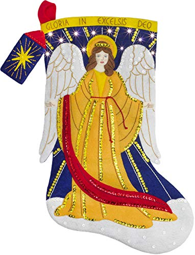 Bucilla 86965E Felt Applique Kit, Heavenly Messenger ()