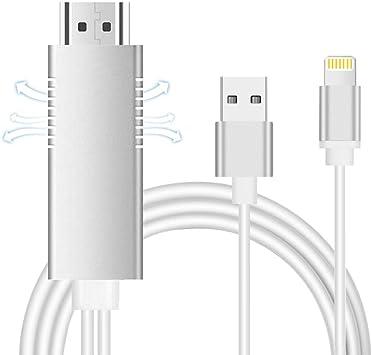 AMANKA Teléfono a HDMI Adaptador de Cable,2 Metros Teléfono AV ...