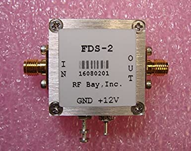Frequency Divider DC-50MHz Div 2 to 256, FDS-N, SMA: Amazon com