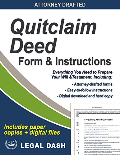 Amazon quitclaim deed form with instructions includes paper quitclaim deed form with instructions includes paper forms digital downloads do it solutioingenieria