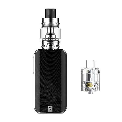 新品 Vaporesso Luxe-S Kit ,Cigarrillo Electrónico Vaping Kit 220W Box Mod Atomizador SKRR 8ml Tank E-Cig Vapor - Sin Nicotina y Sin Elíquido (Silver)