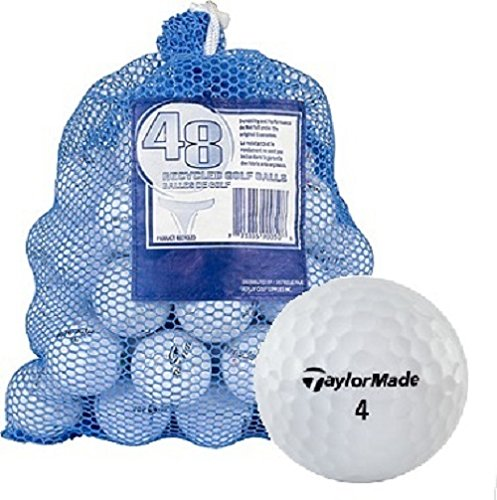 Taylormade Pre Owned - TaylorMade B Grade Recycled Golf Balls (48-Pack)