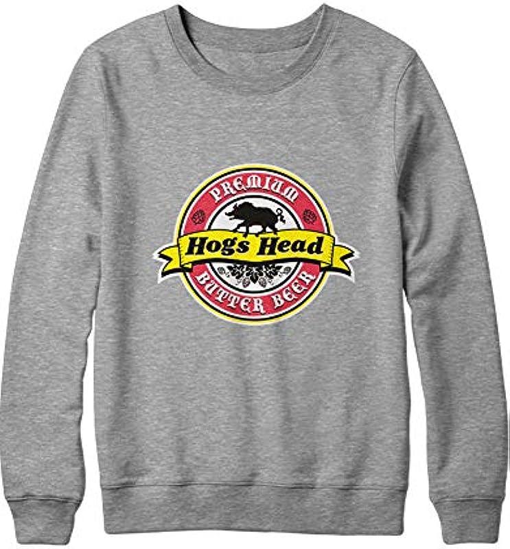 HYPSHRT Męskie Sweatshirt Harry Hog's Head Premium Butter Beer C000184: Odzież