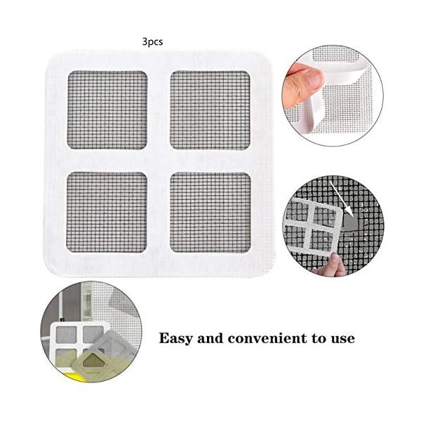 Patch anti-zanzara maglia appiccicosa Patches finestra estiva zanzariera patch riparazione fori rotti sullo schermo… 2 spesavip