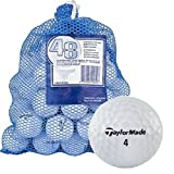 Taylormade 844569 B Grade Recycled Golf Balls, 48 Pack