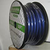 Install Bay The by Metra BBPV10-50 0/1 Premium Power Wire Cable 50 Feet Blue