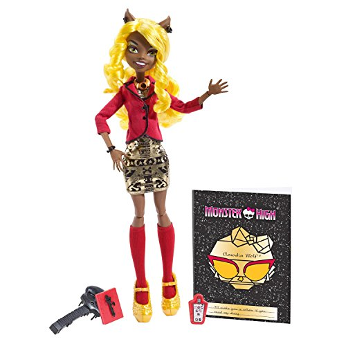 Monster High Frights, Camera, Action! Clawdia Wolf Doll (Swamp People Costume)