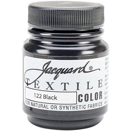 (Jacquard Textile Paint 8 Oz Black)