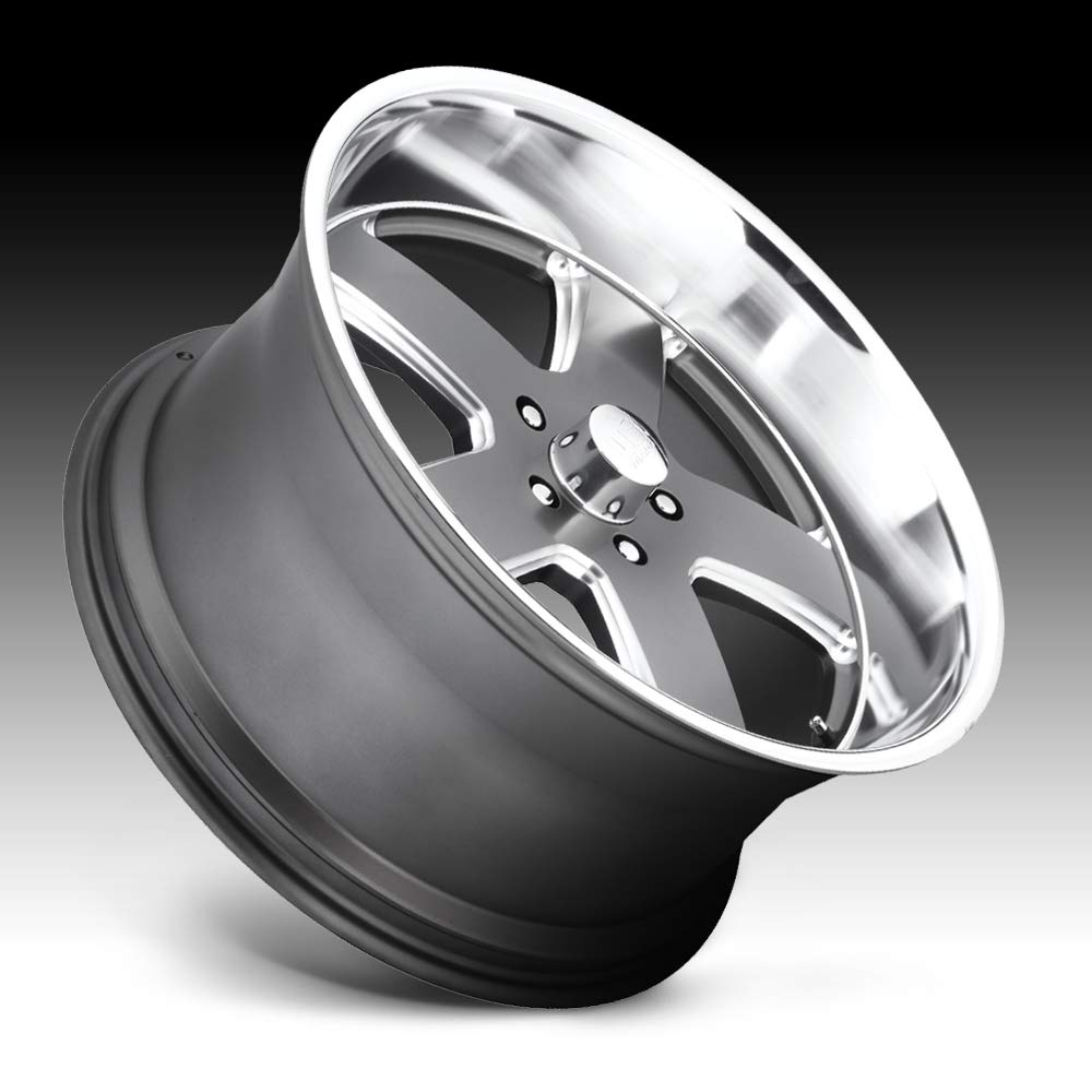 US Mags U118 Hustler 22x9 5x4.75 1mm Gunmetal Wheel Rim 22 Inch
