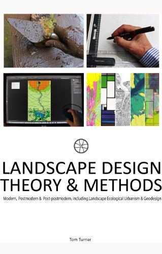 Landscape architecture design theory and methods: Modern,  Postmodern &  Post-postmodern, including Landscape Ecological Urbanism & Geodesign