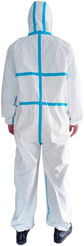Desinfektion Und Isolierung Staubdichte Kleidung Die F/ür Staubfreie Werkst/ätten Geeignet Ist HWZZ Schutzkleidung in Industriequalit/ät Antistatische Kleidung