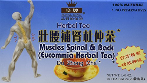 - Muscles Spinal & Back Eucommia Herbal Tea - 20 Bags