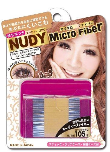 BN Micro Fiber Double Eyelid Nudy Tape (105 pcs) by Microfiber