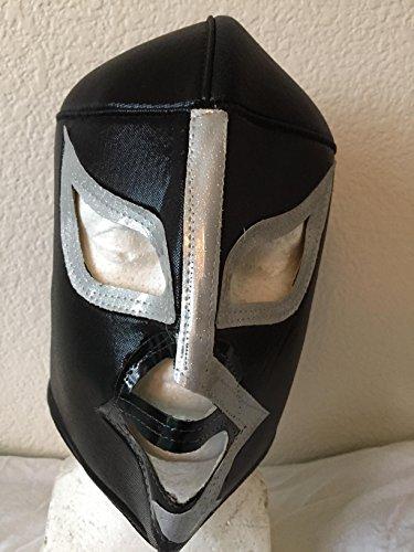 [Mil Mascaras El Santo Blue Demon rayo mask LUCHA LIBRE MASK UNDERGROUND PENTAGON JR NACHO LIBRE SIN] (Childrens Nacho Libre Costume)