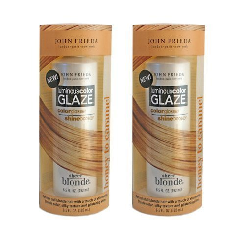 2-pack Sheer Blonde Luminous Color Glaze Honey to Carmel 6.5oz By John Frieda - Sheer Blonde Shampoo Honey