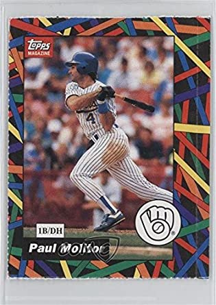 Amazoncom Paul Molitor Baseball Card 1990 93 Topps