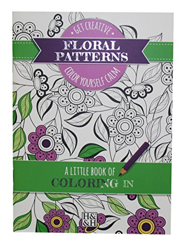 Coloring Books Floral Patterns Drawing Book