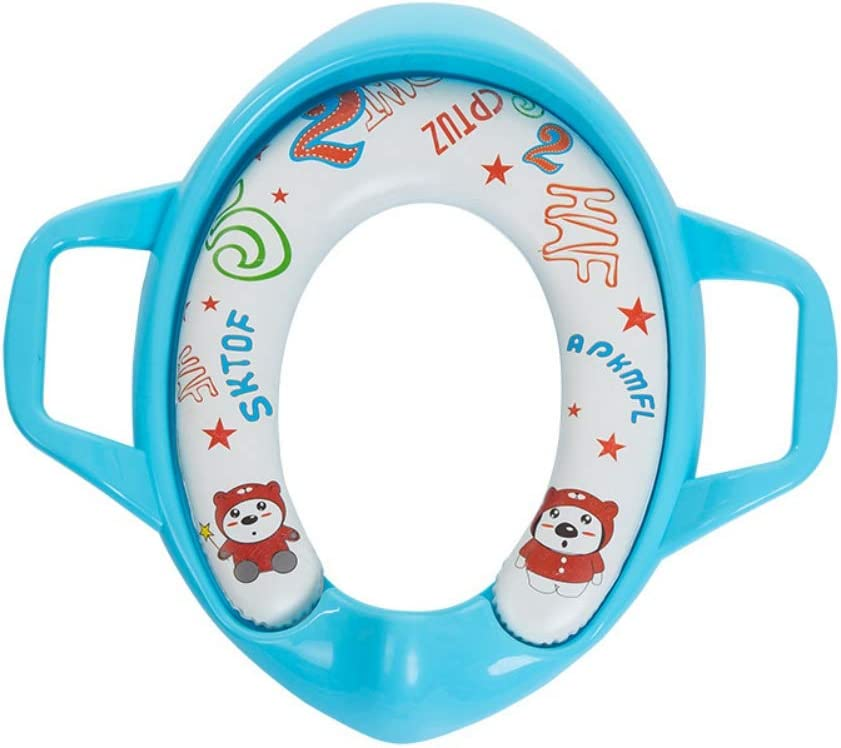 MiyaSudy Baby Training Toilet Seat Covers Portable Toilet Soft Seat Covers Baby Camping Travel Potty Seat Covers 0-6T Kids