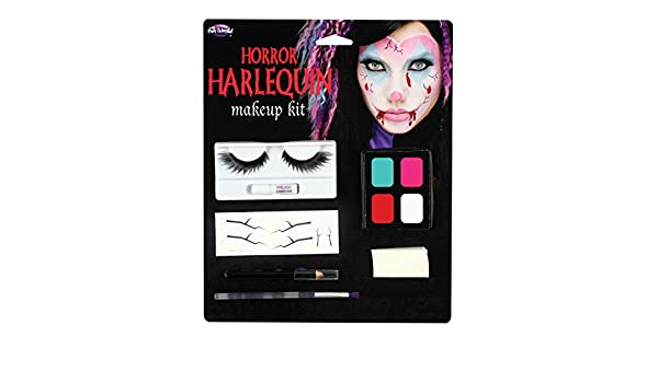 Amazon.com: Fun World Womens Fabulous Freaks Face Paint Make Up Kit, Multi, Standard: Clothing