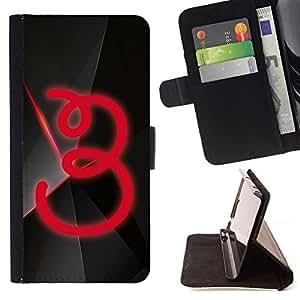 BullDog Case - FOR/Apple Iphone 5C / - / 3 /- Monedero de cuero de la PU Llevar cubierta de la caja con el ID Credit Card Slots Flip funda de cuer