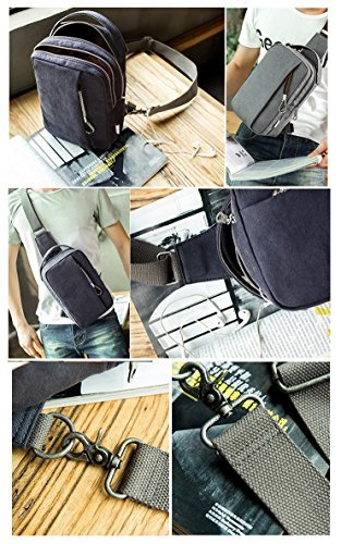 body Backpack Bag Travelling Camping Sling Cross For Coffee Peak Canvas Men Bags Chest Hiking Outdoor Light aTqzEz