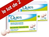 quies wax ear plugs - Quies Boules Natural Wax Earplugs Pack 2 x 12 Pairs of Earplugs by Quies
