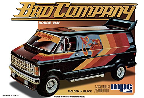 MPC 824 1/25 1982 Dodge Van Bad Company