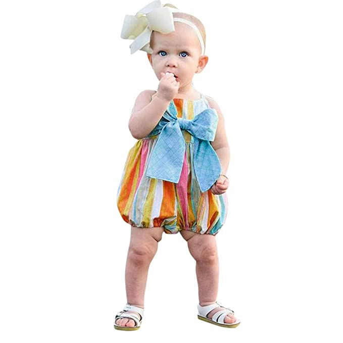 Pink Baby Girl Clothes 2019 Summer Infant Baby Girls Sleeveless Off Shoulder Solid Jumpsuit Romper Clothes