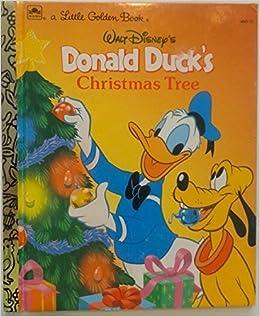 Donald Duck Christmas.Donald Duck S Christmas Tree A Little Golden Book Walt