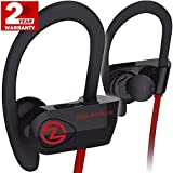 Bluetooth Headphones ZEUS OUTDOOR Wireless Earbuds HD Stereo Waterproof IPX7 Sweatproof Sports Earphones with Mic Best Wireless Headphones for Running Sport Workout Noise Isolationg Bluetooth Headset