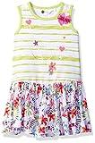 Petit Lem Little Girls Jersey Challis Dress, K Tropical Print, 3