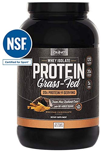 Cheap Onnit Grass Fed Whey Isolate Protein – Mexican Chocolate (30 Servings)