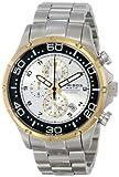 Akribos XXIV Men's AK663YG Grandiose Analog Display Japanese Quartz Silver Watch