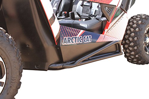 Dragonfire Racing RockSolid Black Rock Sliders Arctic Cat Wildcat Trail/Sport by Dragonfire Racing (Image #1)