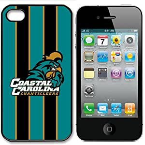 NCAA Coastal Carolina Chanticleers Iphone 4 and 4s Case Cover