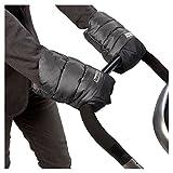 7 A.M. Enfant Warmmuffs Stroller Gloves with Universal Fit (Metallic Grey/Metallic Charcoal)