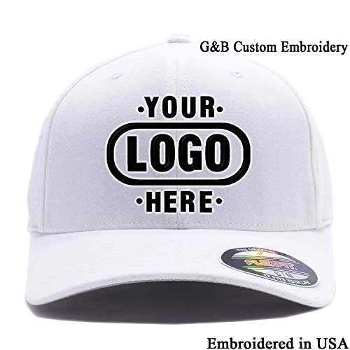 bee18289e37 Jual Yupoong Custom Hat Flexfit. Embroidered. Place Your Own Logo Or ...