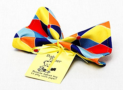 Baby Paper - Crinkly Baby Toy - Triangle Print
