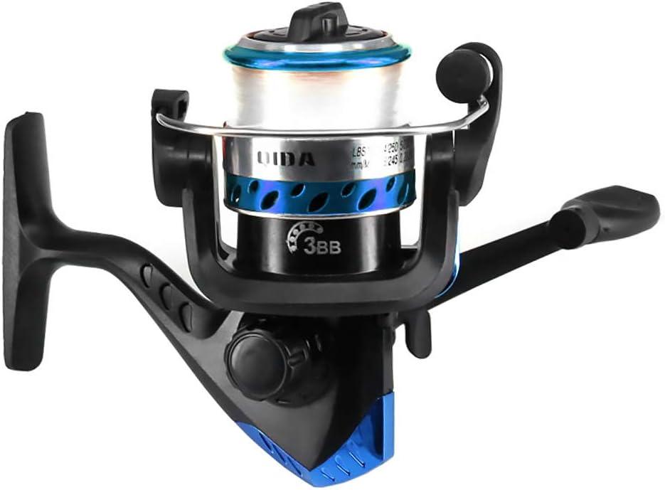 Lixada Fishing Reel Rod Combo Set Spinning Reel Fishing Pole Kit with Fishing Accessories