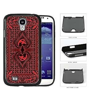 Red Skull Bandana Hard Plastic Snap On Cell Phone Case Samsung Galaxy S4 SIV I9500