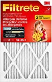 3m air filter replacement - Filtrete MPR 1000 16 x 25 x 1 Micro Allergen Defense HVAC Air Filter, Attracts Small Particles like Pollen & Pet Dander, Delivers Cleaner Air Throughout Your Home, 2-Pack