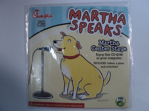 Chick-Fila Martha Speaks: Martha Center Stage (Video, Game, Activities for PC) ()